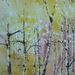 Autumn birch 2 copyright