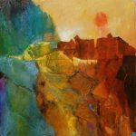 David Spurrier-Canyonland1-Mixed media cOPYRIGHT